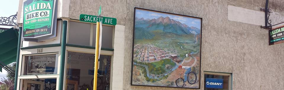 Salida Bike Shop Mural