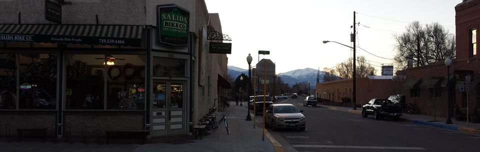 Salida bike shop